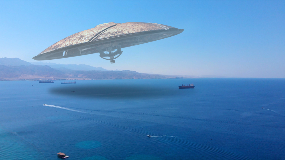 The Mother Ship Dropped The Alien 5,000 Feet above the East Coast of Florida